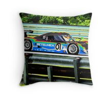 Colorful Ganassi prototype Throw Pillow