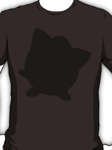 Pokemon - Jigglypuff Silhouette Design T-Shirt
