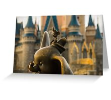Timothy Mouse and Dumbo at Magic Kingdom Park Greeting Card