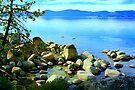 """""""Tahoe Rocks"""" by Lynn Bawden"""