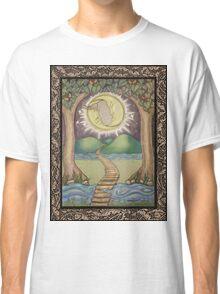 The Moon Tarot Fantasy Card Classic T-Shirt