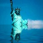 Lady Liberty - Warming by Richard Murch