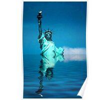 Lady Liberty - Warming Poster