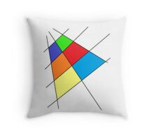 Colorful Udesign Throw Pillow