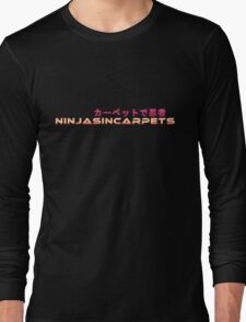 Ninjas In Carpets Logo Design! Long Sleeve T-Shirt