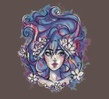 Blue Girl One Piece - Short Sleeve