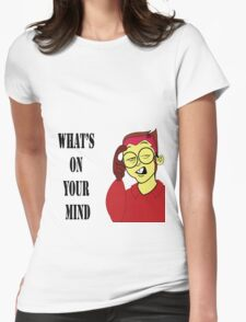 Cartoon  T-Shirt  Womens Fitted T-Shirt