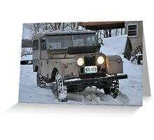 Land Rover S-1 Greeting Card