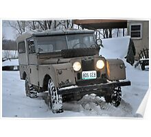 Land Rover S-1 Poster