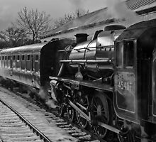 Winter on the East Lancs Railway by Steve  Liptrot