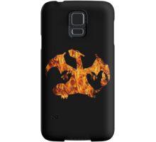Pokemon: Textured - Charizard Samsung Galaxy Case/Skin