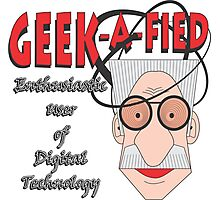 GEEK-A-FIED Photographic Print