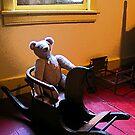 Teddy Bear and Rocking Horse by Susan Savad