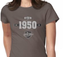 Born in 1950 (Light&Darkgrey) Womens Fitted T-Shirt