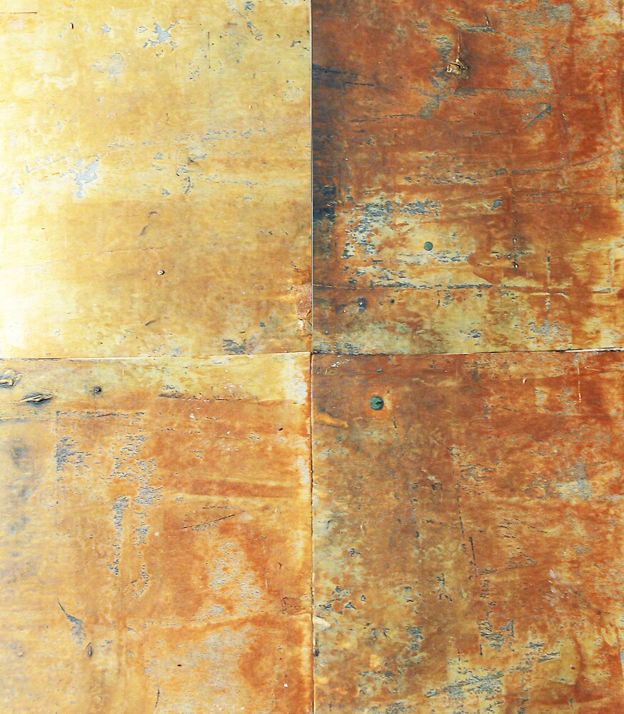 Speeches Oxide 2 - abstract painting on canvas by Marco Sivieri