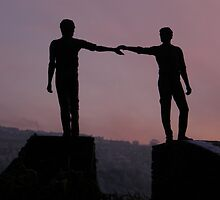Hands Across The Divide by mikequigley