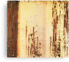 Venice Wall 4 - original acrylic abstract painting on panel Canvas Print