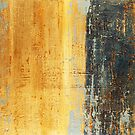 Venice Wall 1 - original acrylic abstract painting on panel by Marco Sivieri