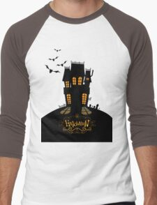 ghost house Men's Baseball ¾ T-Shirt