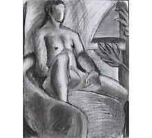 Sitting Man Photographic Print