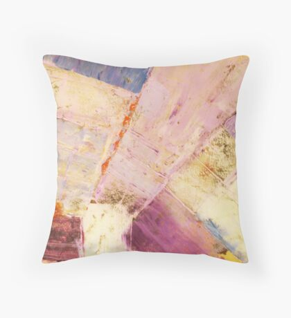 Waters 1 - original abstract acrylic painting on canvas Throw Pillow