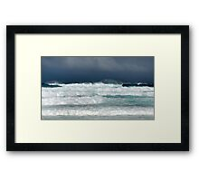 Hawaii Surf Advisory, Christmas Day 2009 Framed Print