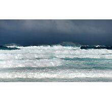 Hawaii Surf Advisory, Christmas Day 2009 Photographic Print