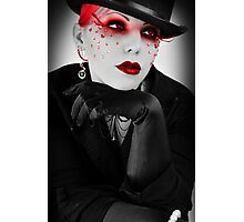 Vanity: Addicted to a Life of Material Photographic Print