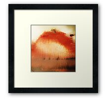 Thorns 1 - original acrylic abstract painting on canvas Framed Print