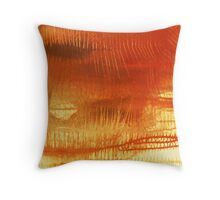 Thorns 2 - original acrylic abstract painting on canvas Throw Pillow