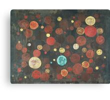 Autumn Thoughts Meeting - original abstract painting on canvas Canvas Print