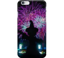 Mickey Mouse Presents: Frozen Fireworks at Disney World iPhone Case/Skin