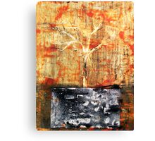 Roots - original acrylic painting on canvas Canvas Print