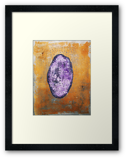 All About That Stone - original acrylic painting on canvas by Marco Sivieri