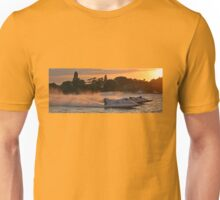Power Boats on Oulton Broad Unisex T-Shirt