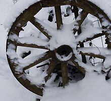 The Old Wheel by Antanas