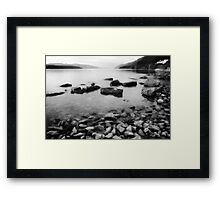 Nessie's Beach Framed Print