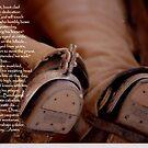 Dusty Feet-A rancher kneels in Prayer, Cuernavaca, Mexico, 1988 by Wayne Cook