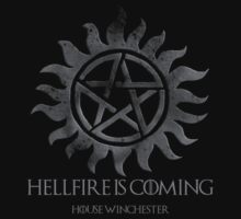 Hellfire Is Coming - House Winchester by TheTrickyOwl