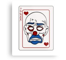 The Joker Mask - Dark Knight - Heath Ledger - Why so Serious Metal Print