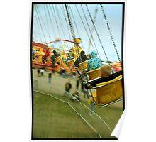 Speeding Swings Poster
