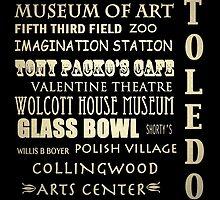 Toledo Ohio Famous Landmarks by Patricia Lintner