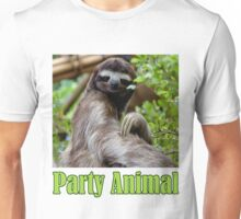 Party Animal - The Sloth Unisex T-Shirt