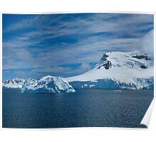 Antarctic Coastline Poster