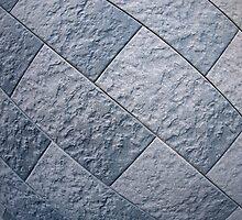 Fragment of gray decorative wall by vladromensky