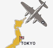 Increased Production Tokyo Destruction -- WW2 Poster by warishellstore