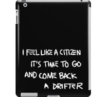 Basquiat Citizen Drifter iPad Case/Skin