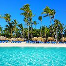 Postcard from Punta Cana, The Dominican Republic by Bruno Beach