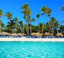 Postcard from Punta Cana, The Dominican Republic by Atanas Bozhikov