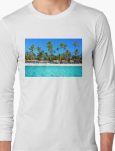 Postcard from Punta Cana, The Dominican Republic Long Sleeve T-Shirt